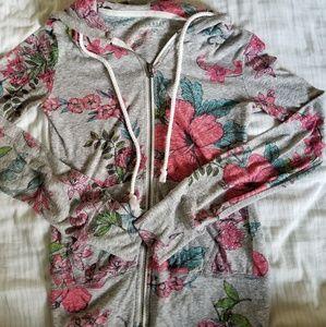 Aeropostale floral hoodie